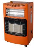 Gas/riscaldatore elettrico con il motore di ventilatore di ceramica del bruciatore