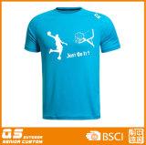 Logotipo personalizado Quick Dry promocionais aplicar T-shirts