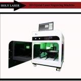 Гравировальный станок лазера высокоскоростного миниого фотоего 3D кристаллический, печатная машина цифров стеклянная для домашнего бизнеса