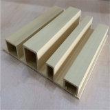 Крытая декоративная доска панели стены WPC деревянная пластичная составная