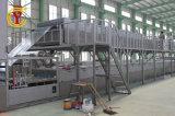 Hoja de techado de plástico reforzado con fibra de alta velocidad de línea de producción que hace la máquina