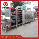 Máquina de secagem da fruta contínua/túnel vegetal do secador do ar quente dos petiscos