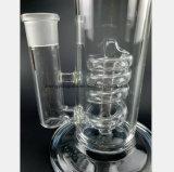 11-duim Pijp van het Recycling van de Slang van de Tabak van de Filter van de Slang van het Glas de Spiraalvormige