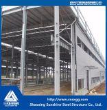 研修会、鋼鉄倉庫のためのプレハブの軽い鉄骨構造