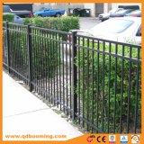 Schienen-dekorativer Wohngarten-Zaun des Aluminium-drei