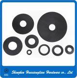 Nylonbefestigungsteil-Distanzstücke PA-Kurbelgehäuse-Belüftung Derlin schwarze/weiße Plastikunterlegscheibe