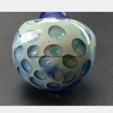 Blaues Bienenwabe-Entwurfs-Rohr-Glasfilter-Rauch-Rohr