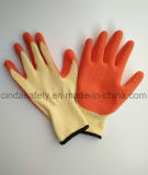 Строительные работы с покрытием из латекса защитные перчатки