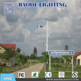 luz al aire libre LED del jardín solar de la calle de los 6m