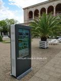 Al aire libre Dedi 55'' La luz del sol legible a prueba de vandalismo de la pantalla táctil LCD Digital Signage