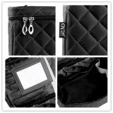 Cosmetic Bag黒い卸し売り美の構成旅行女性