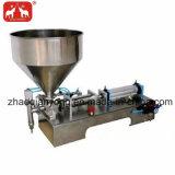 수평한 압축 공기를 넣은 풀 충전물 기계
