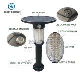 Высокоэффективный светодиодный индикатор аккумулятор ловушки комаров солнечной энергии