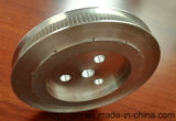 Parte di alluminio, accessori di alluminio, pezzo meccanico, puleggia cronometrante