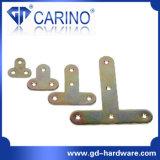Canto chapeado zinco do ferro da sustentação de prateleira do gabinete do metal (W539)