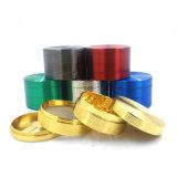 담배 관을%s 4layers 63mm 아연 합금 혼합 Colorf 스레드 나물 분쇄기