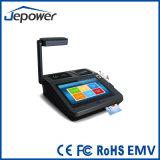 Terminal androide de la posición de la pantalla táctil EMV con el módulo del programa de lectura de la tarjeta inteligente magnética y