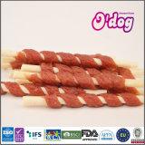 Ручка молока Myjian естественной обернутая говядиной белая для собачьей еды