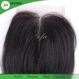 Non transformés de haute qualité Remy Cheveux humains 100 % de la fermeture de l'homme brésilien
