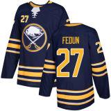 Barato 2018 Nova Marca Ad Mens Senhora Kids Buffalo Sabres 27 Taylor Fedun 41 Justin Falk 38 Cody Goloubef Josh Gorges Blue Custom Hockey camisolas