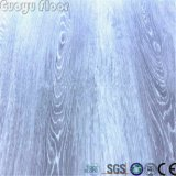 Respetuoso del medio ambiente impermeabilizar los azulejos de suelo autos-adhesivo del vinilo del PVC de la cáscara y del palillo