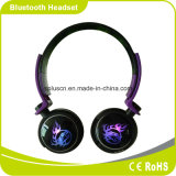 Cool LED Lighting Flash Power Bass Great Soundstage Portable Confortable Wear Headband Carte SD Lightweight Bluetooth Headphone