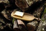 Plateau en bois naturel Plateau Plateau Mut Platter Serviette en bambou