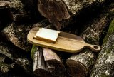 Bandeja Natural placa plato de madera bandeja de servir Mut Plato de bambú