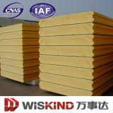 40-50kg/M3 painel de sanduíche da densidade Polystyrene/EPS/Polyurethane/PU