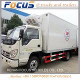 Hete Diesel van de Diepvriezer van de Koeling van de Verkoop KoelVrachtwagen met Gekoelde Eenheid