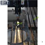 Máquina de estaca de couro acrílica do laser do vestuário da tela