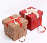 Boîtes-cadeau faites sur commande de carton de vacances pour promotionnel (FLB-9343)