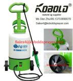Pulvérisateur de jardin de sac à dos de batterie du matériau 6V 12L8l de HDPE de chariot
