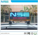 P2.5mm SMD는 택시 최고 지붕 발광 다이오드 표시를 방수 처리한다