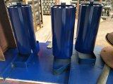 O transportador de correia plana Rolete Intermediário de retorno para o cimento