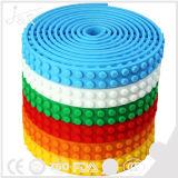 Juguetes multicolores de la estructura del silicón de la cinta del bloque hueco (pegamento reutilizable de 3M)
