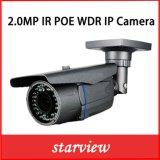 cámara al aire libre del IP del CCTV del IR del punto negro del IP WDR Poe de 2.0MP HD