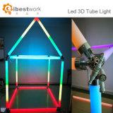 Het magische 3D Licht van de Decoratie van de Staaf van de Nacht van de Gebeurtenis van de Lamp van de Buis Lineaire