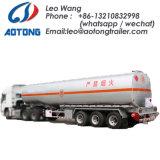 50kl 3 Axles Fuel /Oil Tanker Semi Trailer