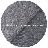 De bonne qualité Coton / Poly / Lin / Spandex Denim Fabric (QF13-0732)