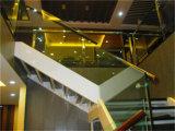 De Directe Verkoop van de fabriek van het Spoor van de Techniek van het Glas van Roestvrij staal 304
