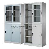 زجاجيّة فولاذ مكتب تصنيف عرض تخزين معدن مبرد [بووككس] خزانة آمنة قابل للإقفال [سمي]