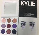 Kylie Jenner la gama de colores púrpura del sombreador de ojos del polvo presionado de los colores de la sombra de ojo 9