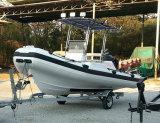 Barco inflable rígido 10persons de Aqualand 18feet los 5.4m/barco de la costilla/barco de pesca (RIB535A)