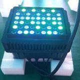 PAR aire libre 54X3W RGB LED delgado de iluminación de la etapa