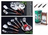 Кухня нержавеющей стали варя комплекты инструментов с No C1 держателя