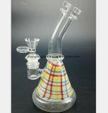 O filtro de vidro da tubulação de água do injetor do fumo da água da cor recicl o escaninho