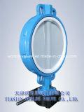 Teflonüberzogener Oblate-Typ Drosselventil (D71X-10/16)
