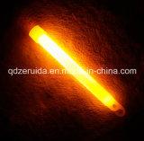 5개 분 매우 밝은 주황색 안전 빛 지팡이