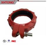 T di /Painted/Galvanized del ferro duttile di certificazione di FM UL/Ce/accessori per tubi uguali a resina epossidica Grooved per protezione antincendio